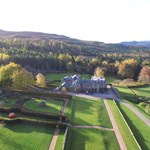 House of Glenmuick and surrounding gardens in the heart of Royal Deeside.