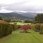 Glenmuick Estate has an expanse of well kept gardens surrounding the House of Glenmuick.