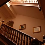 House of Glenmuick grand staircase.