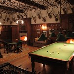 The house of Glenmuick has a grand games rooms with full sized Billiards table.