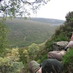Glenmuick Estate Deer stalking activities in Cairngorms National Park.
