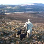 Deer Stalking on Glenmuick Sporting Estate, sustainable deer stalking in Cairngorms national park.