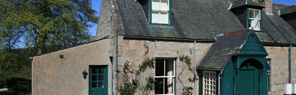 Antlers Cottage is located on Glenmuick Estate and offers self-catering accommodation in the heart of Royal Deeside.