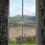 Gardeners Cottage offers views of Cairngorms national park.