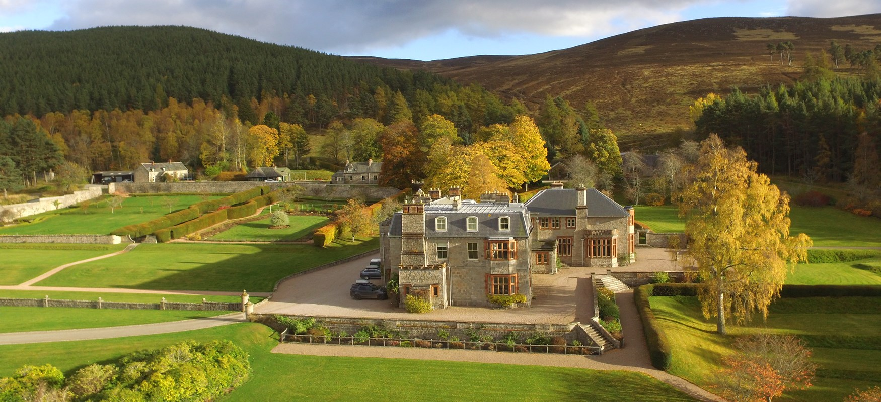 House of Glenmuick is situated in the heart of Royal Deeside and the Cairngorms national park.