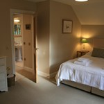 Double bedroom at Ballintober self catering cottage located on Glenmuick Estate.
