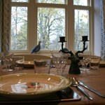 Ballintober dining room offers a spacious area for guests to enjoy whilst staying at Glenmuick Estate.
